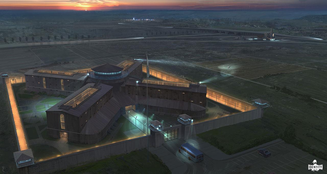 Prison concept art